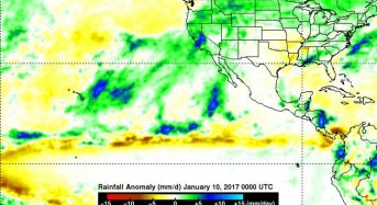 USA – NASA Sees Pineapple Express Deliver Heavy Rains, Flooding to California