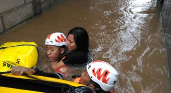 Indonesia – Deadly Flooding in Jakarta After 180mm Rain in 24 Hours (Updated)