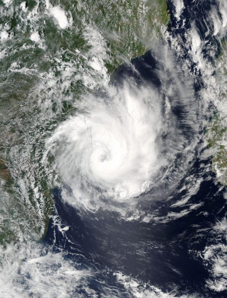 Mozambique Nasa Sees Tropical Cyclone Dineo Dump 132 Mm