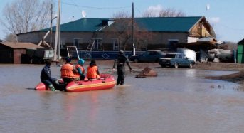 Kazakhstan – 7,000 Evacuated After Snowmelt Causes Floods in 7 Regions