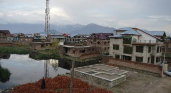 As Indian Kashmir's Lush Valleys Turn to Concrete, Fears of Flooding Rise
