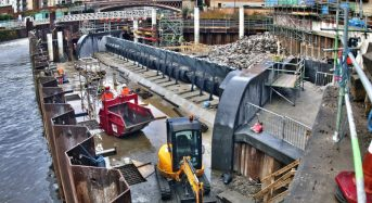 UK – City of Leeds Installs Innovative Moveable Weirs