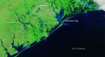 USA – Hurricane Harvey Floods Seen From Space
