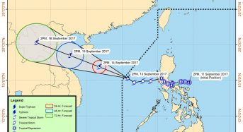 Philippines – Floods in 3 Regions After Tropical Storm Dumps 500mm of Rain in 24 Hours