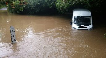 UK – Emergency Rescues After Flash Floods in South West England