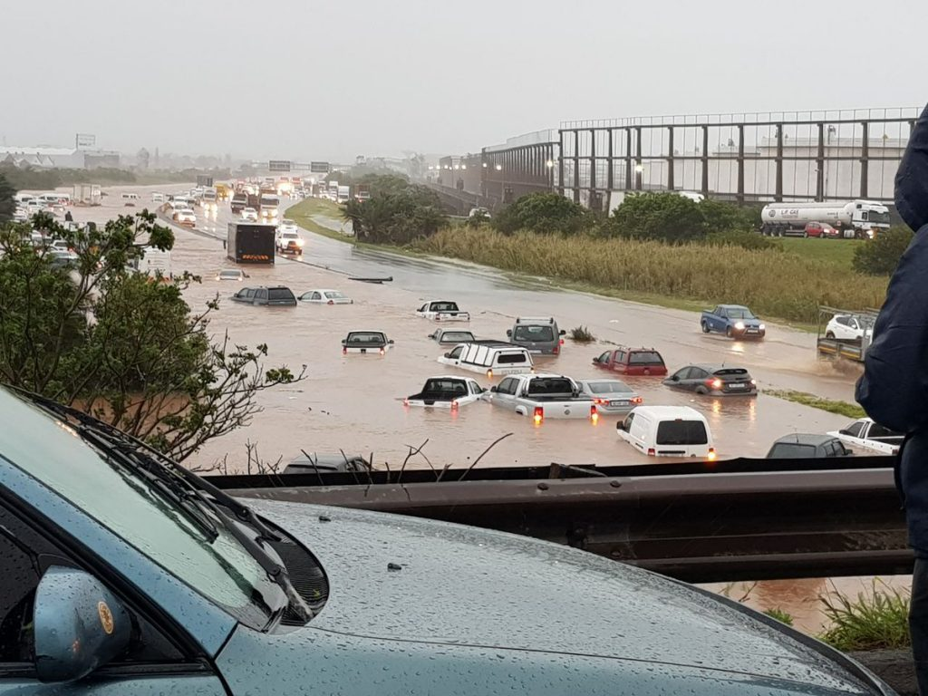 South Africa – Storm Leaves 8 Dead, Record Rain in Durban