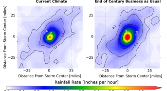 North American Storm Clusters Could Produce 80 Percent More Rain Say NCAR Scientists