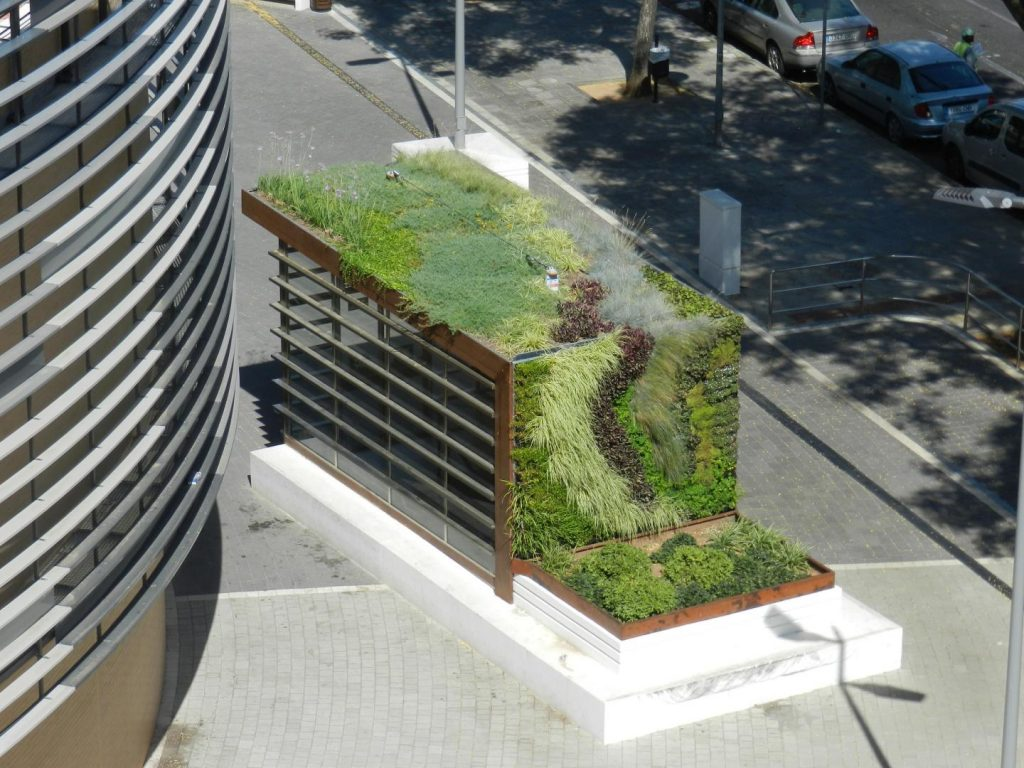 Spain The Role Of Green Roofs In Climate Change