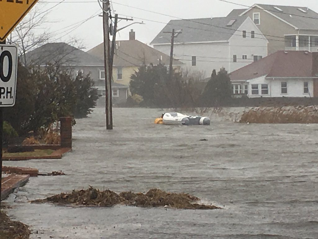 USA – Winter Storm Riley Causes Coastal Flooding – FloodList