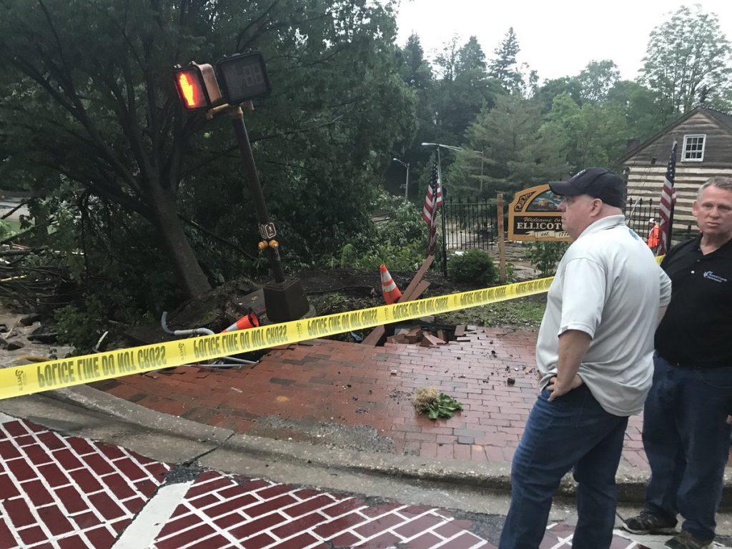 USA – Catastrophic Floods Strike Ellicott City, Maryland ...