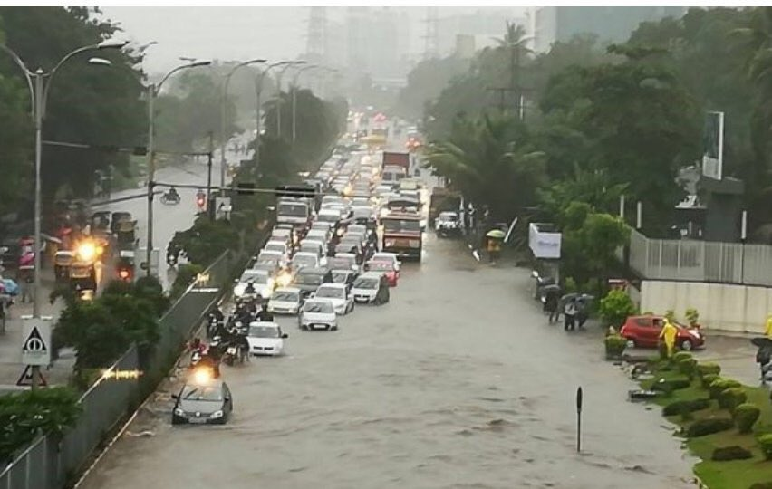 India – Dozens Dead After Torrential Rainfall in Mumbai and