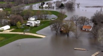 Flooding of the Illinois River