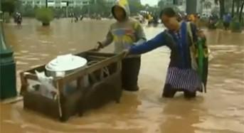 Flooding in Jakarta, April 2013