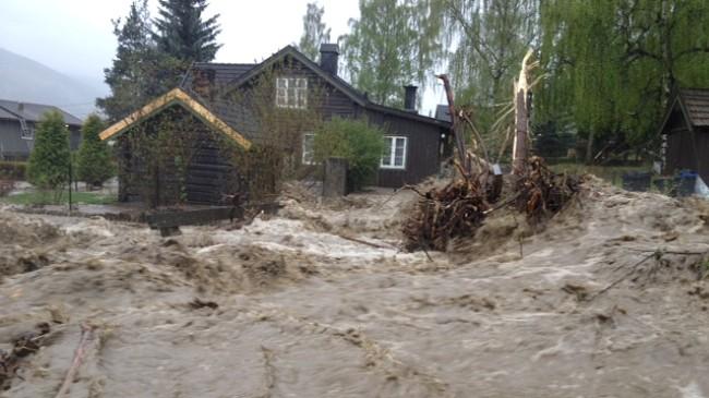 floods Norway 2013