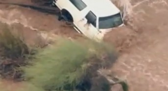 USA – State of Emergency After Flash Floods Leave 2 Dead in Arizona