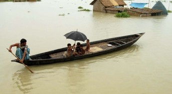 India – Flooding Affects Over 2 Million in North East
