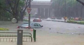 Flash Floods in Singapore