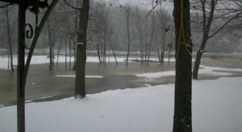Ice Jam Flooding Threat for Muskegon River