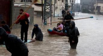 Gaza Flood Photos