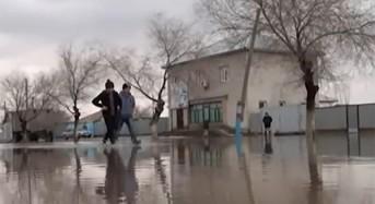 Flooding in Southern Kazakhstan