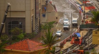 Heavy Rain Floods Parts of Dubai