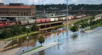 Floods Trigger State of Emergency in St Paul, Minnesota