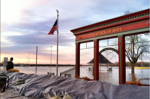 clarksville floods