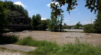 Raging Emme River Causes Destruction in Switzerland