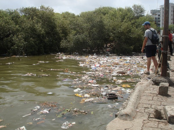 Mithi River in 2007. Photo: Global Reach Out