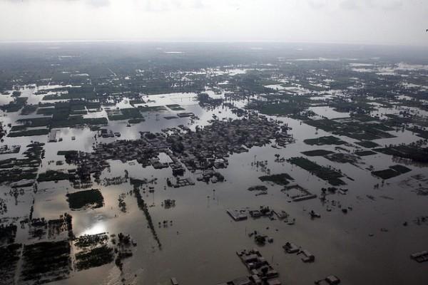 Flooding in Punjab Province, Pakistan from 2010. UN Photo/Evan Schneider