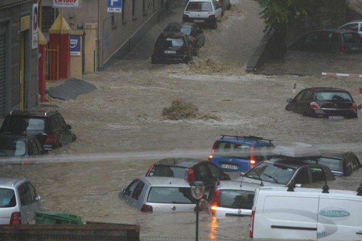 Floods Genoa
