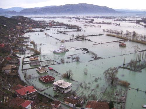 Floods in Albania, 2010. Photo: Pooja Bryant