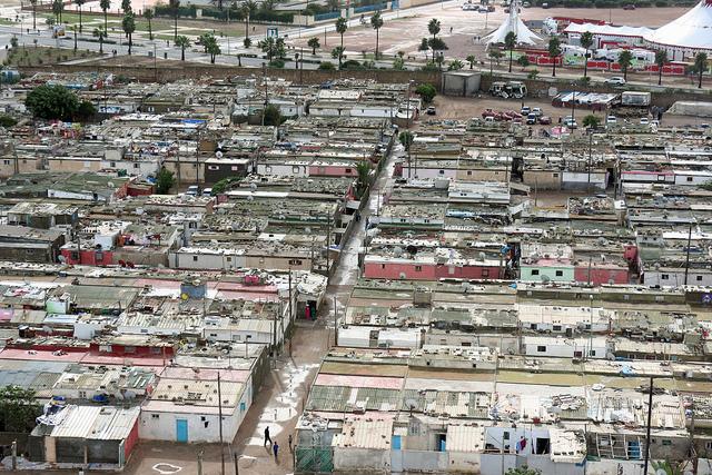 Casablanca housing - vulnerable to severe weather. Photo: November Delta