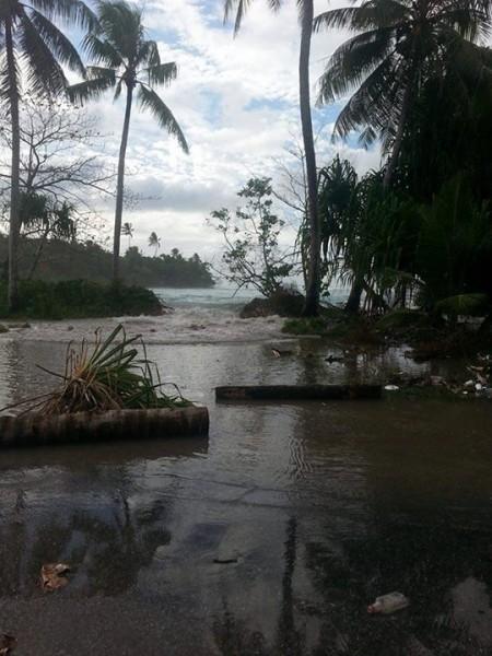 king tide floods Majuro 2