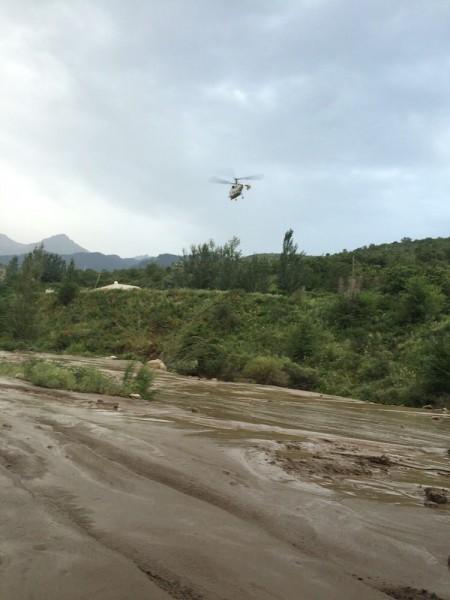 Floods and mudflow in Almaty region of Kazakhstan, 23 July 2015. Photo: Kazakhstan Ministry of Internal Affairs
