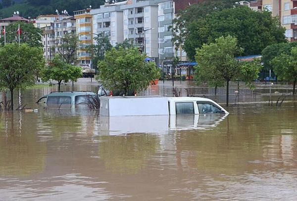 Floods in Hopa, Artvin Province, Turkey, 24 August 2015. Photo: AFAD