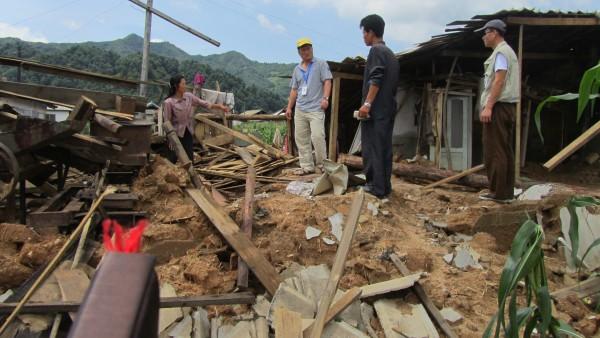 July 2015 floods in North Korea. Photo: Red Cross North Korea