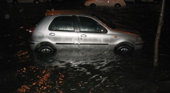 France – Record Rainfall Floods Streets in Lot-Et-Garonne