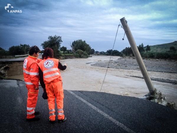 Floods Calabria, Italy, November 2015