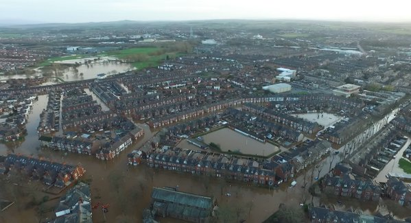 Floods in Carlisle, December 2015