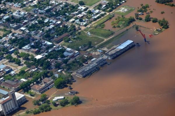 Floods in Uruguay, December 2015. Photo: Sistema Nacional de Emergencias