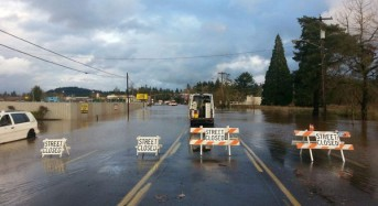 Flood Rescues After Rivers Overflow in Portland, Oregon