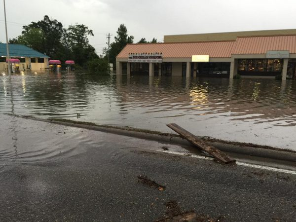 Floods in Gulfport. Mississippi, 28 April 2016. Photo: Gulfport Police Department