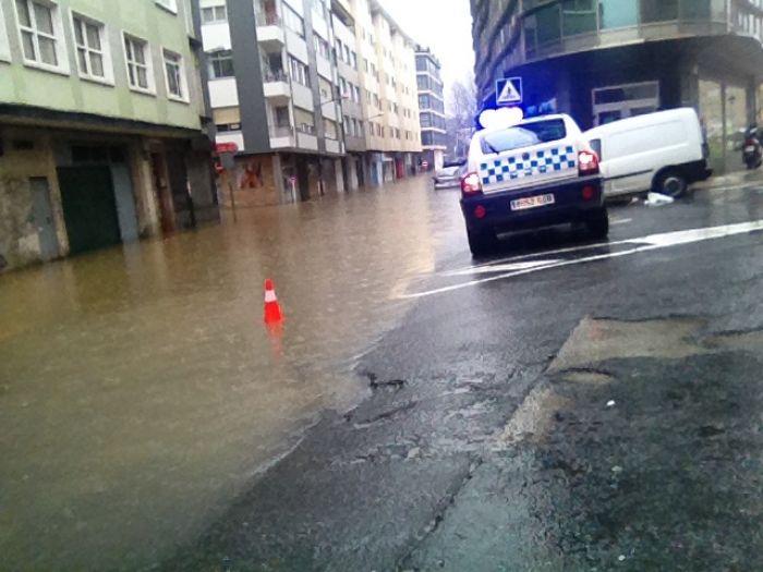 Floods in Sada, Galicia, Spain, March 2016. Photo: Concello de Sada
