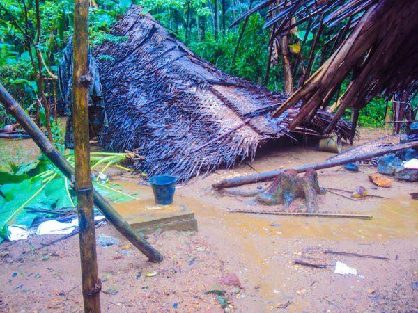 Floods have destroyed hundreds of homes in Sri Lanka. Photo: Sri Lanka Red Cross Society
