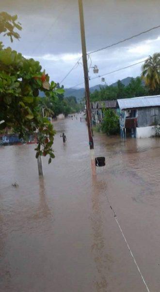 Floods in Haiti, 08 May 2016. Photo: Protection Civile, Haiti