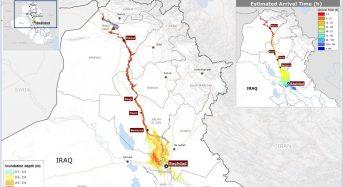 Iraq – JRC Study Says Mosul Dam Failure Would Affect 6 Million