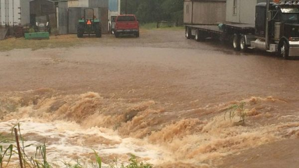 Floods in Gavin County, Oklahoma, June 2016. Photo: Facebook/Gavin County Sheriff's Office