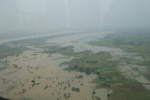 Floods in Uttar Pradesh, August 2016. Photo: India MoD