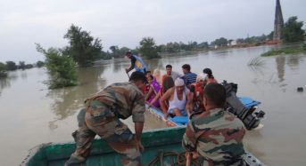 India – Floods Affect 2 Million in Uttar Pradesh as West Rapti River Reaches Record High